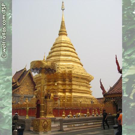 Chiang Mai, Wat Doi Suthep, Thailand