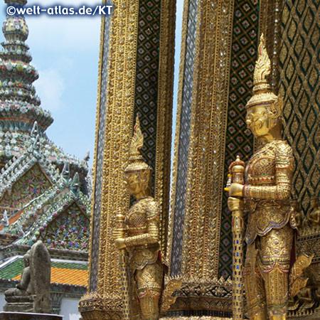 Tempelwächter im Wat Phra Kaeo