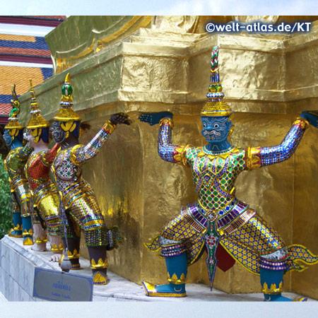 Wächterfiguren, Wat Phra Kaeo