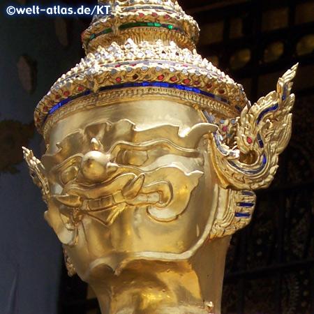 Wat Phra Kaew, Tempelwächter (Detail)