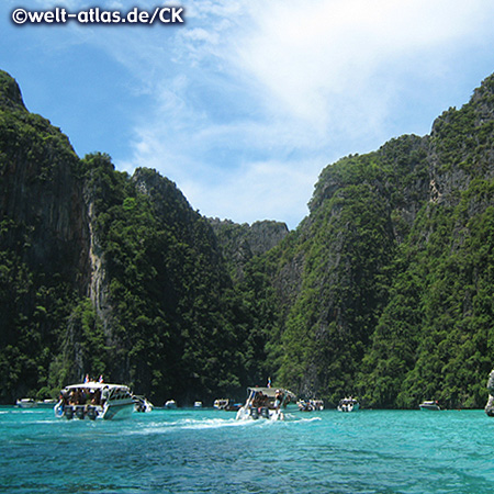 Bootstour auf Phi Phi Ley