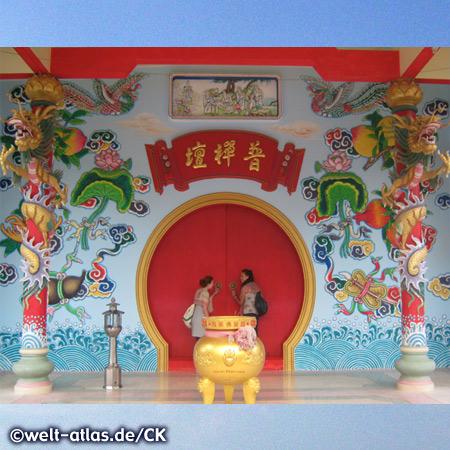 Chinese Temple, Ko Phangan, Thailand