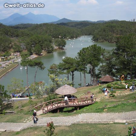 Beautiful Da Thien Lake and the Valley of Love, Da Lat
