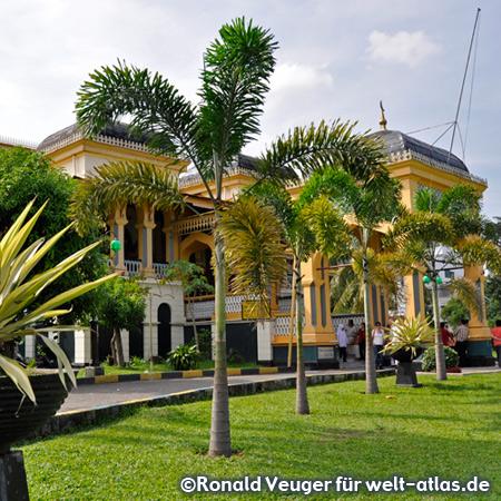 Istana Maimun, Sultanspalast in Medan