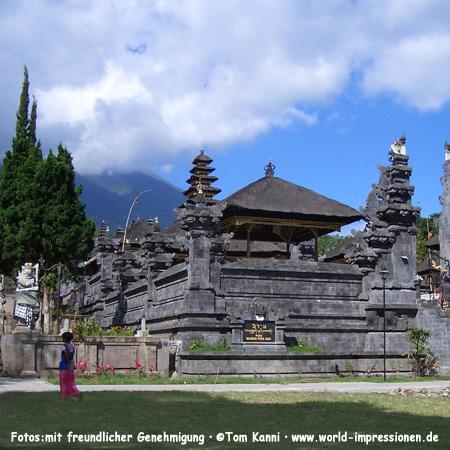 Temple Pura Besakih at Mount Agung, Bali