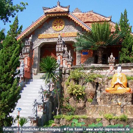 Brahma Vihara Arama. Buddhist monastery in Bali