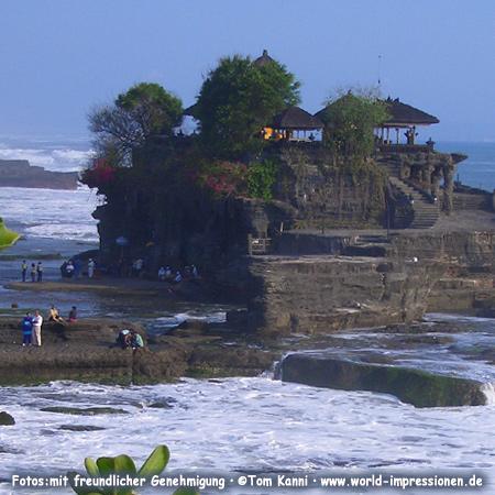 Temple Tanah Lot, South-Bali