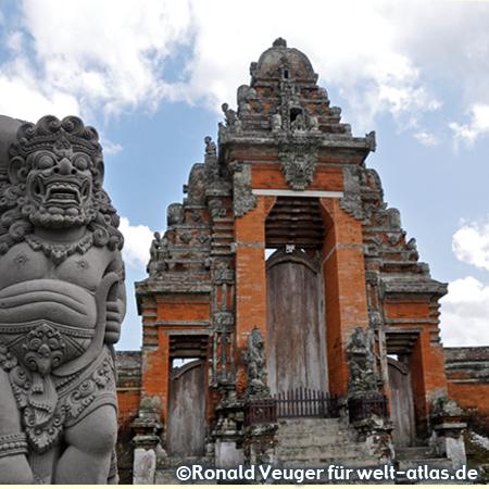 Tempelkomplex Taman Ayun in Mengwi auf der Insel Bali nahe Ubud