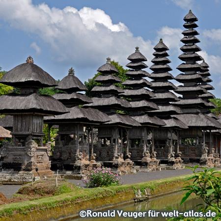 Balinese Pagodas of Taman Ayun