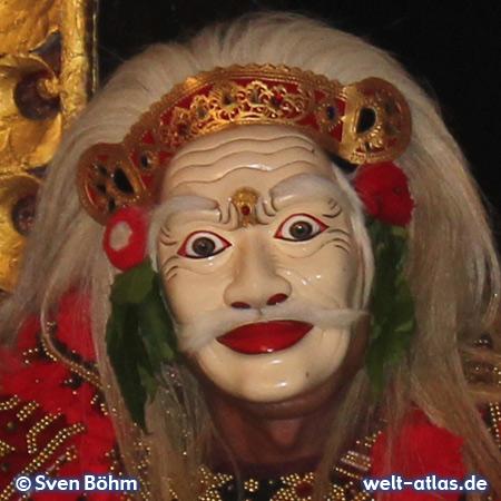 Legong Maske, Bali – Foto: Sven Böhm für welt-atlas.de