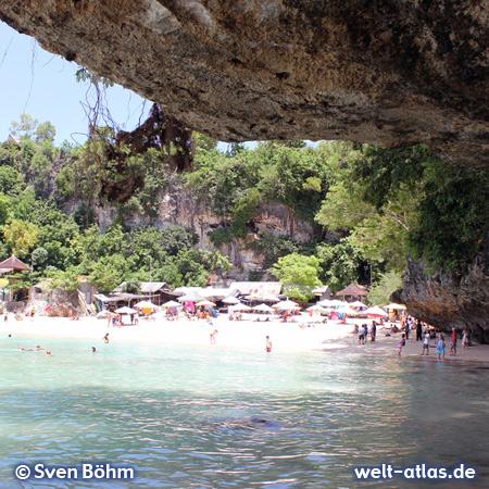 Pantai Padang Padang, popular beach and surf spot