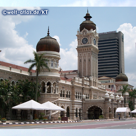 Abdul Samad Building at Merdeka Square, Supreme and High Courts