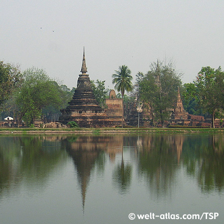 Sukhothai, Historical Park, Thailand,Provinz Sukhothai
