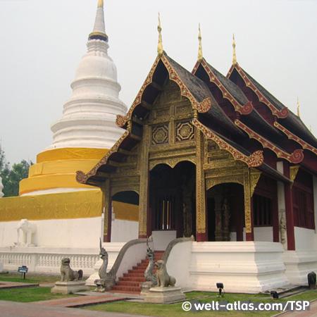 Chiang Mai, Wat Phra Singh, Thailand,Provinz Chiang Mai