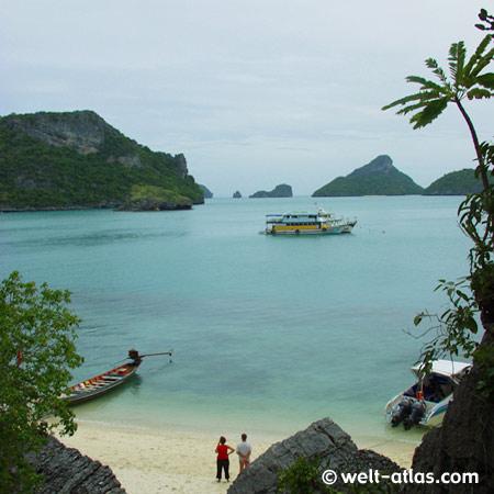 Ausflung in den Ang Thong National Marine Park, Thailand, Koh Samui,Provinz Surat Thani