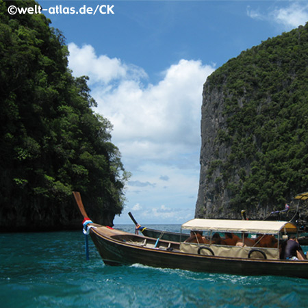 Bootstour auf Phi Phi Ley, Provinz Krabi