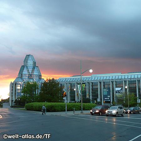Kanadische Nationalgalerie in der Hauptstadt Ottawa