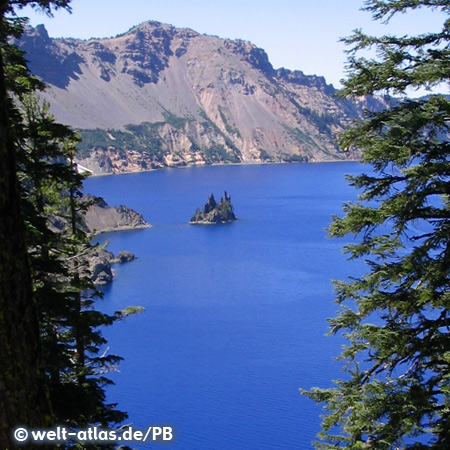 Phantom Ship Island, Crater-Lake-Nationalpark