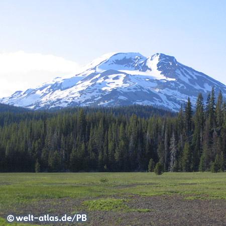 South Sister Volcano, Oregon