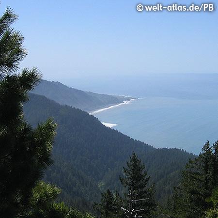 Lost Coast, Küste im Norden Kaliforniens, USA