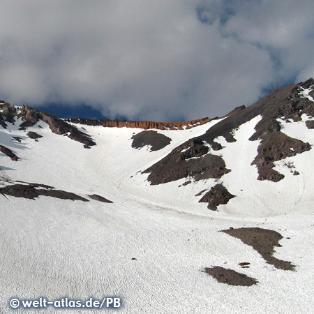 Mt. Shasta, a volcano in northern California, USA