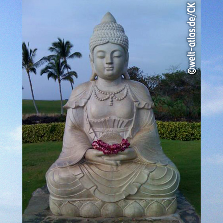 Buddha Point am Waikoloa-Beach, Hawaii