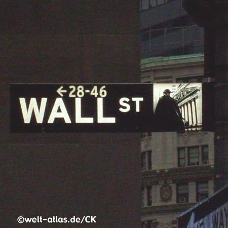 dark Wall Street, New York City