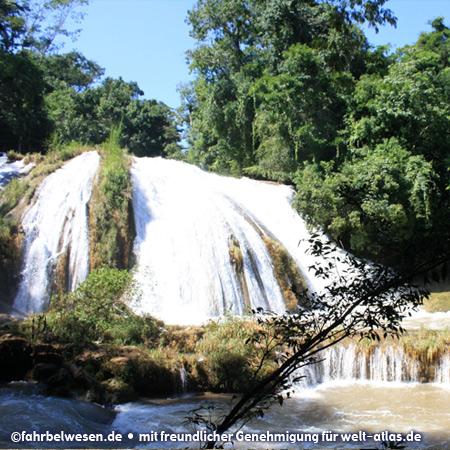 Wasserfälle südlich von Palenque – Foto:©fahrbelwesen.de