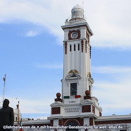 Faro Venustiano Carranza, Leuchtturm von Veracruz – Foto:©fahrbelwesen.de