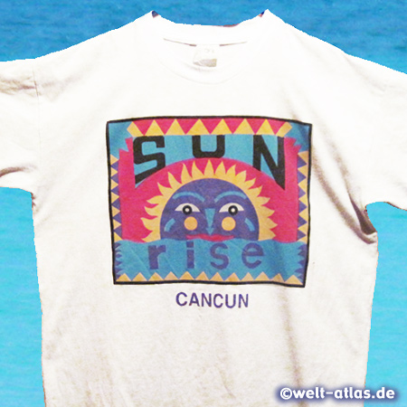 T-Shirt from Cancun - memory of a marvelous trip