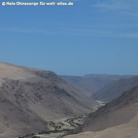 Landschaft in der Region Arequipa