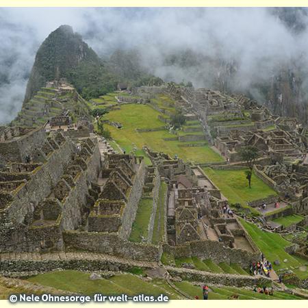 Ruinenstadt Machu Picchu, Weltkulturerbe der UNESCO, Foto:©Nele Ohnesorge