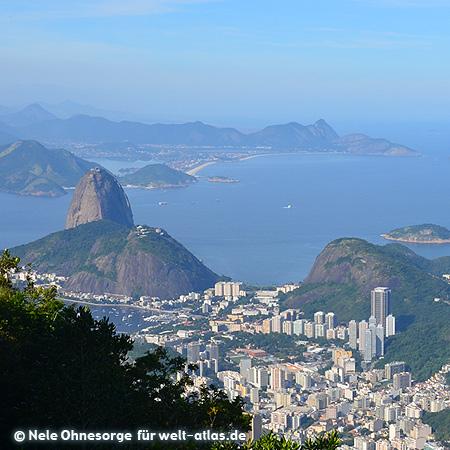 Blick auf Rio de Janeiro und den Zuckerhut, Foto:©Nele Ohnesorge