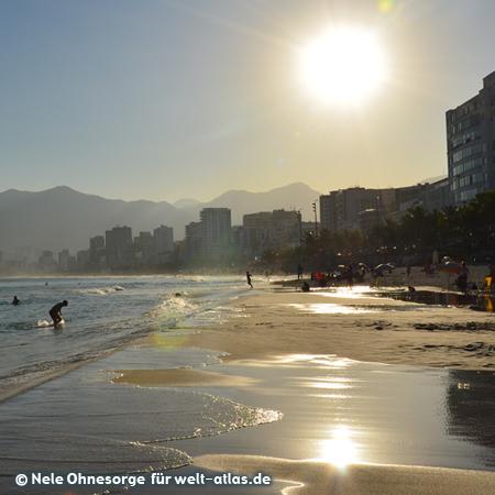 Praia de Ipanema, Rio de Janeiro, Foto:©Nele Ohnesorge