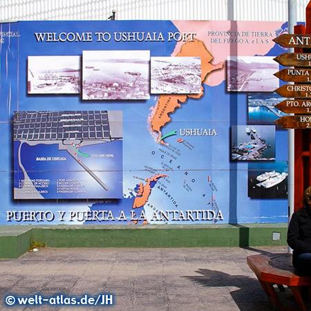 Im Hafen von Ushuaia, Argentinien