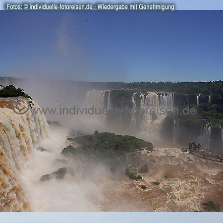 Iguaçu Falls, Foz do Iguaçu, Brazil