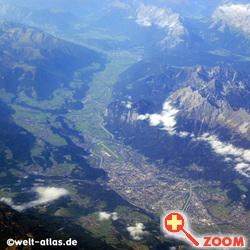 Foto von Flug über Innsbruck