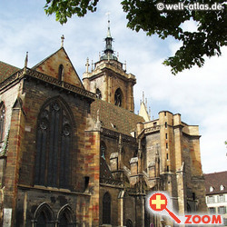 Foto von Saint-Martin Church, Colmar