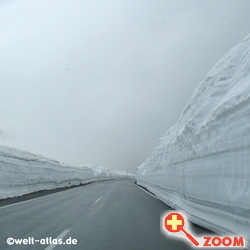 Foto von snow at Timmelsjoch pass