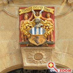 Foto von Coat of arms in Weißenburg