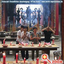 Foto von Thien Hau Tempel in Vietnam